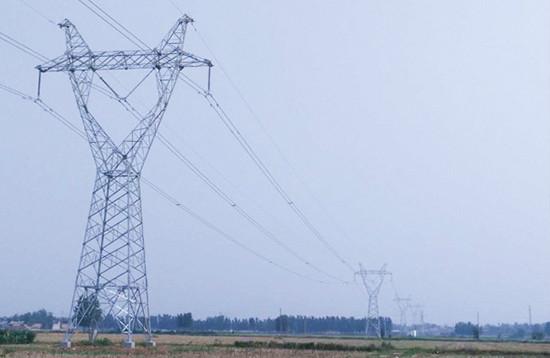 5千米,其中同塔双回线路(单侧挂线)全长2.5千米,单回路线路全长15.