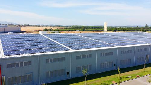 腾晖泰国工厂3mw屋顶光伏电站项目通过验收