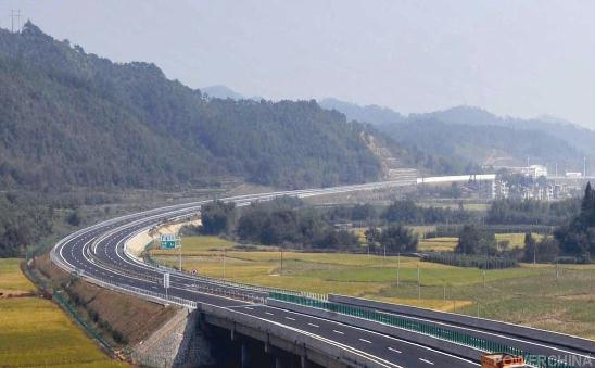 武夷新区规划图-武夷山下看双赢 武邵高速公路项目建设全景扫描